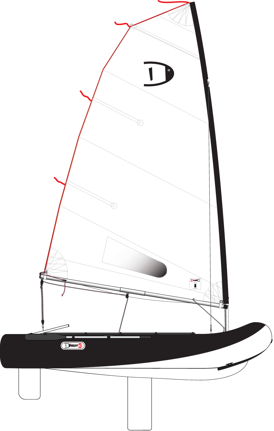 DinghyGo Orca (delivery April)