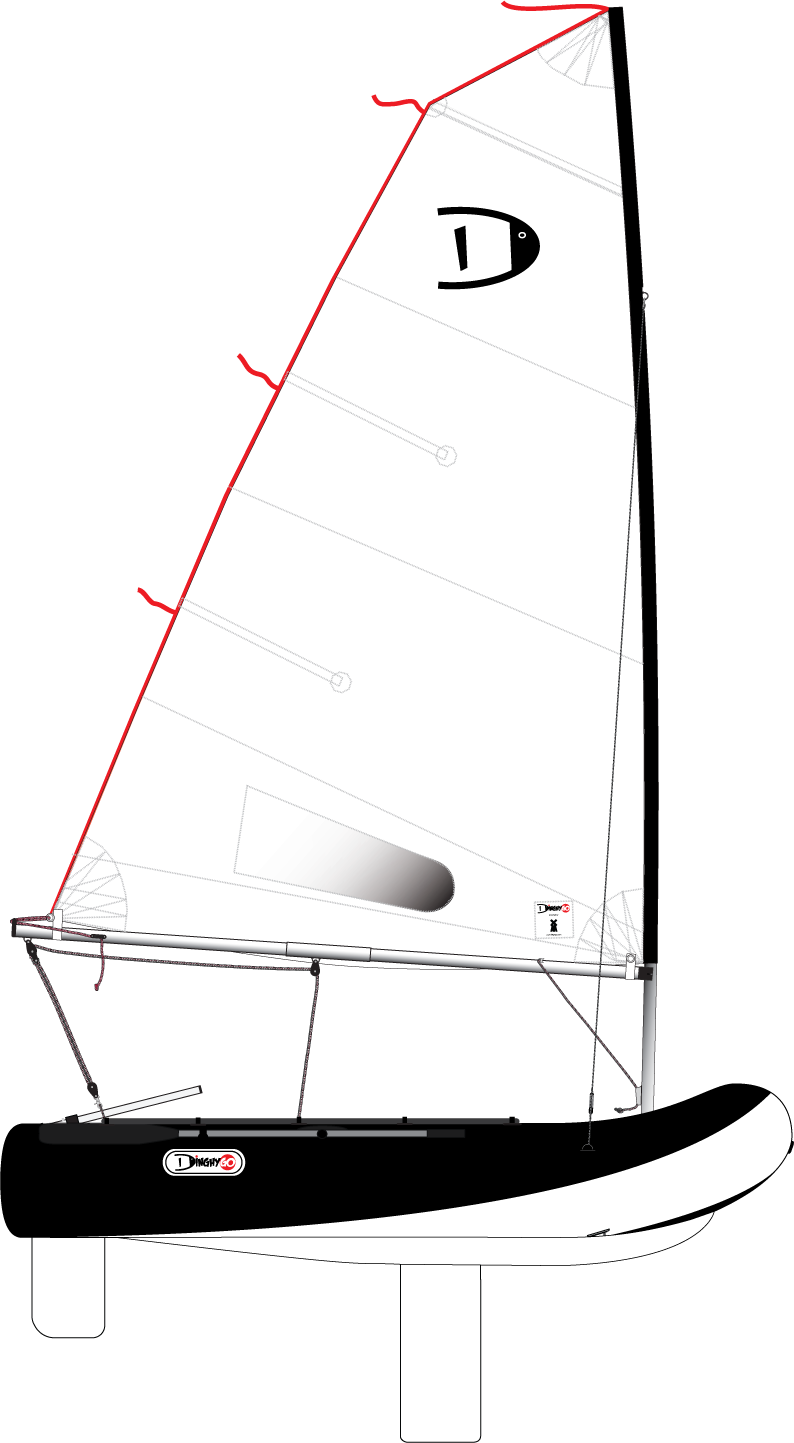 DinghyGo Orca 280 (delivery April 2021)