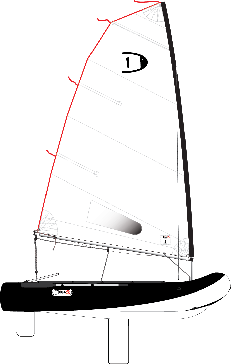 DinghyGo Orca 325 (delivery April 2021)