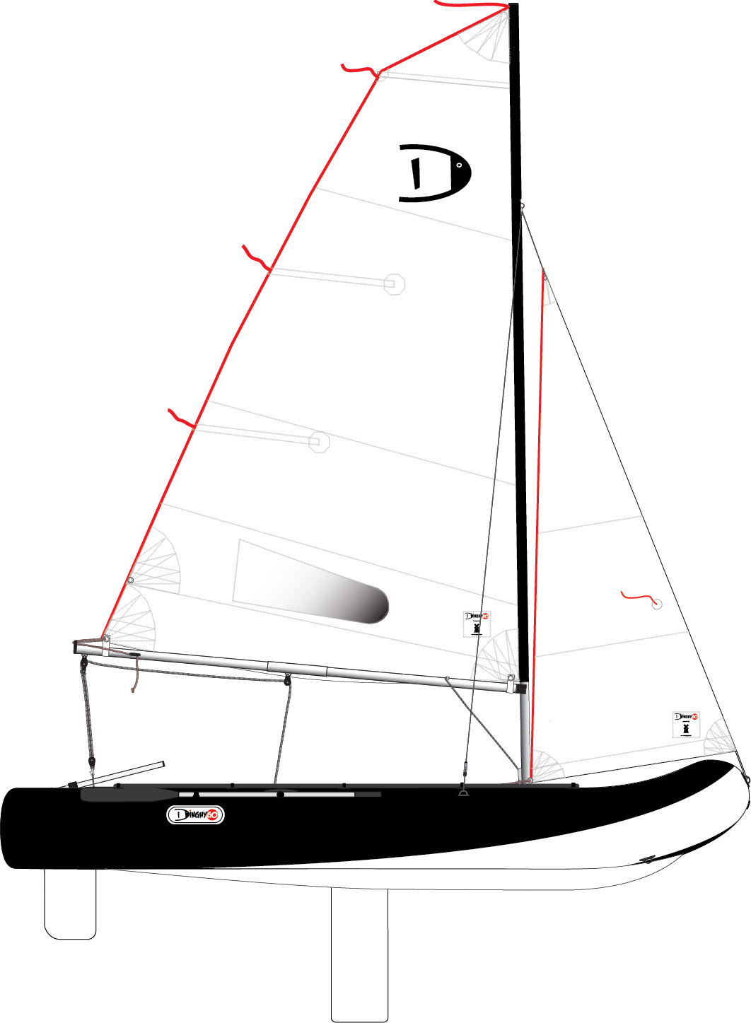 DinghyGo Orca 375 (delivery April 2021)